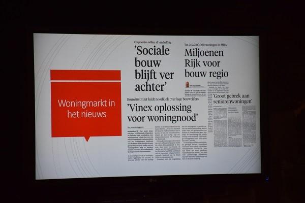 Geslaagd Woonopmaat Netwerk Café over de woningnood