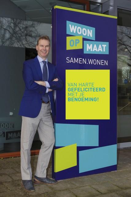 Sjoerd Hooftman voor vier jaar herbenoemd als directeur-bestuurder