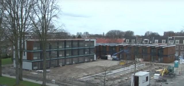 Ze staan er: wisselwoningen aan de Bilderdijkstraat Heemskerk