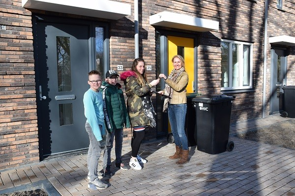 Oplevering nieuwbouw Coornhertstraat in Heemskerk