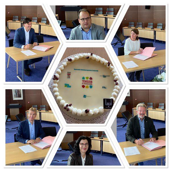 Vijf partijen werken samen aan Oosterwijk!