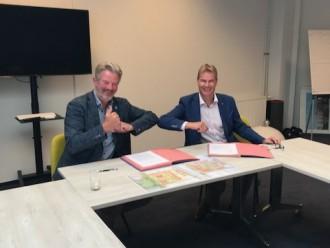 Intentieovereenkomst sloop en nieuwbouw Cornelis Geelvinckstraat en omgeving getekend